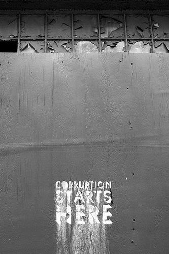 Corruption Splash