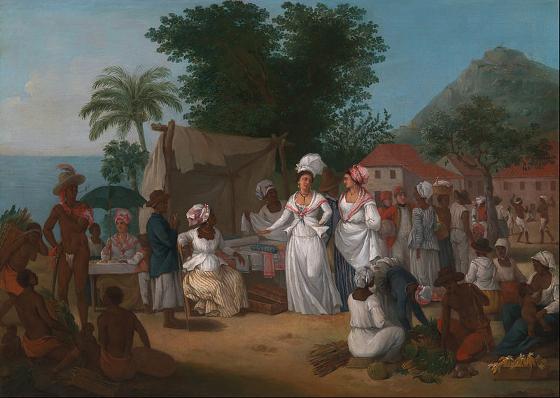 Brunias-A Linen Market